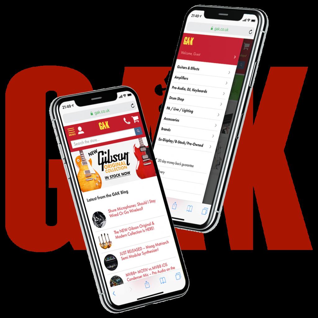 Gak ecommerce website